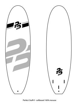 Perfect Stuff 6'0 EVA/WOOD STRINGERS