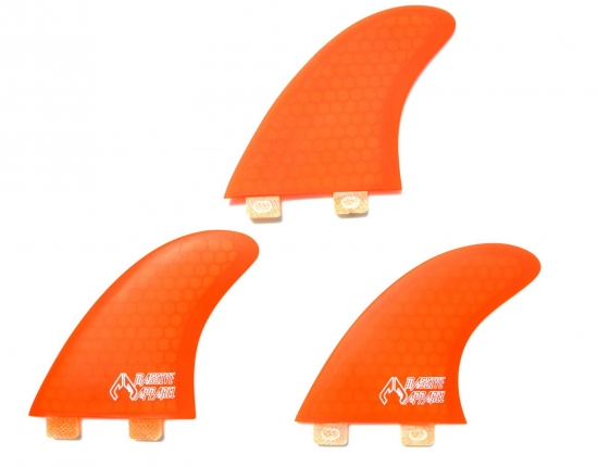 Type FCS honey comp tri-fin set